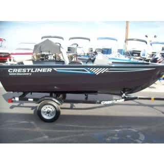 Crestliner Discovery 1450 new
