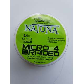 DuraKing Natuna Micro 4X Braided #0.08